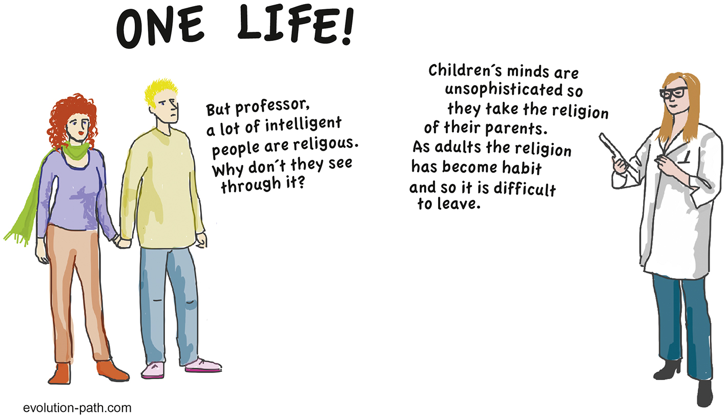 Evolution-Path, one life