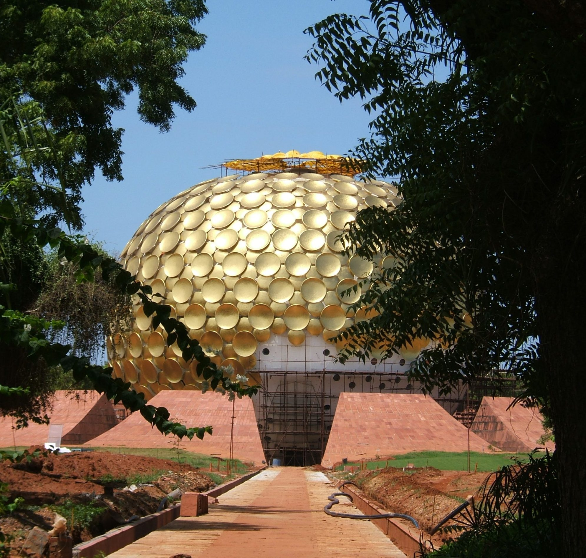 The Matrimandir of Auroville