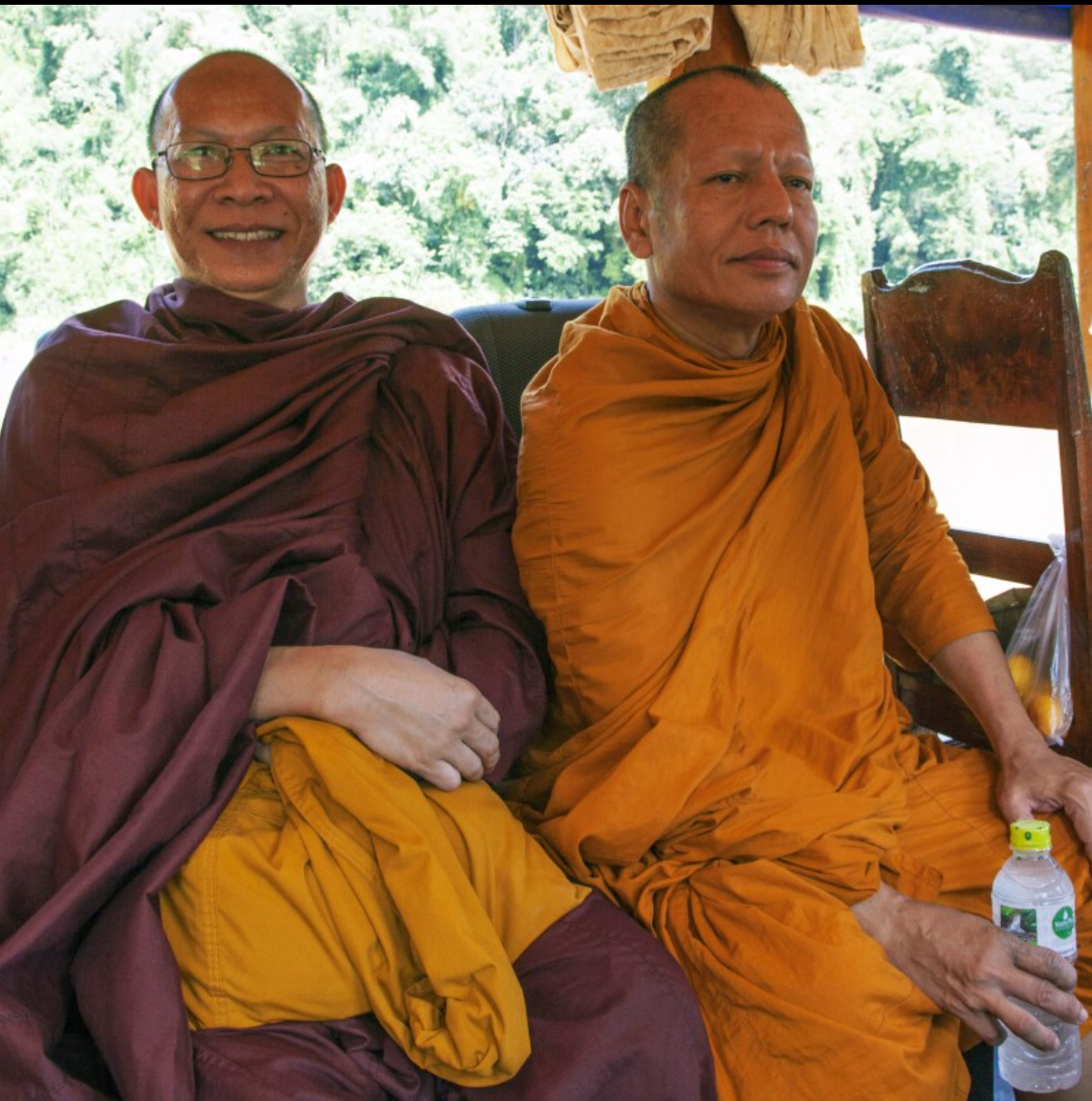Laos Buddhist monks