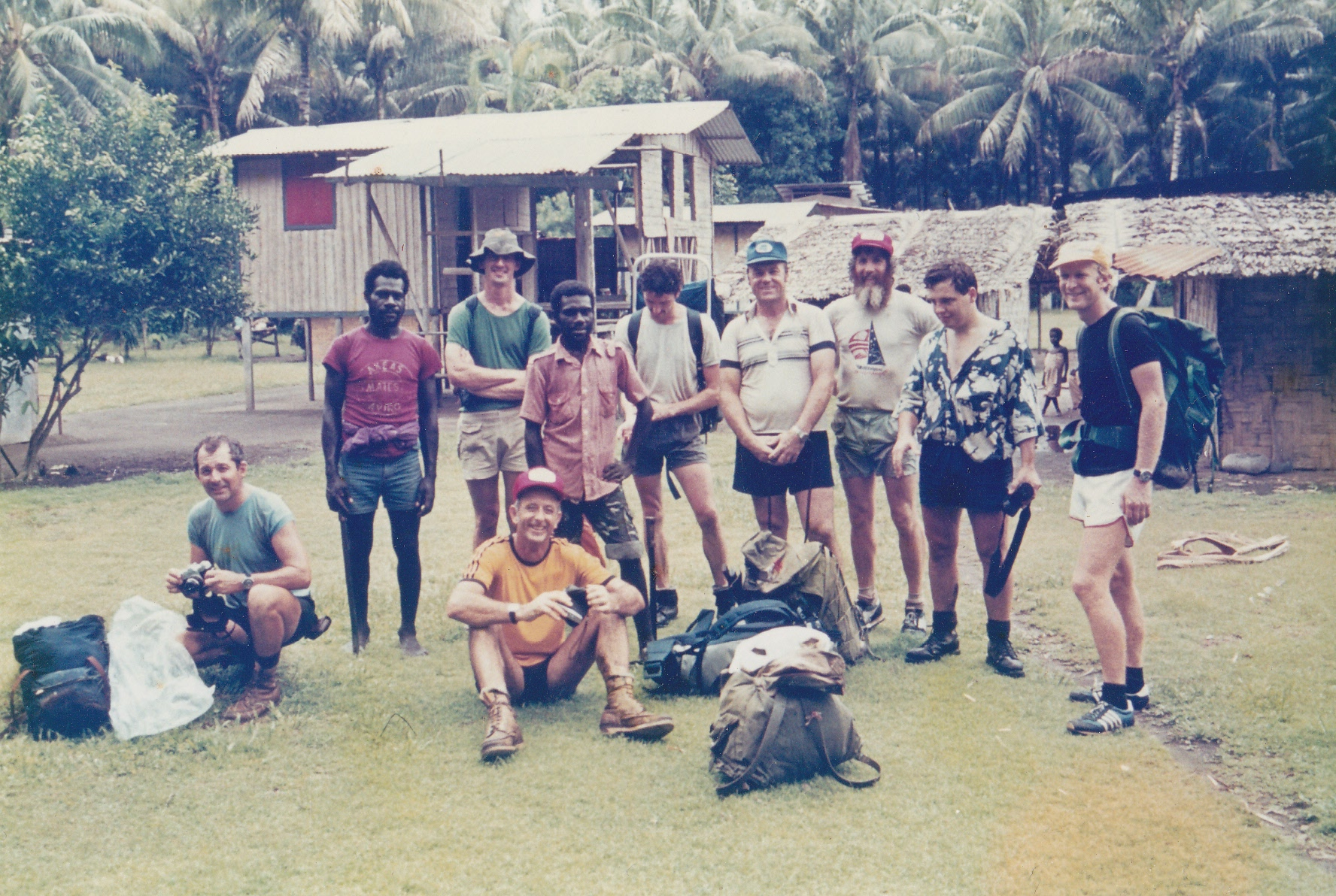 New Guinea days (I'm far right)
